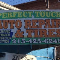 Photo taken at Perfect Touch Auto Repair by Casanova C. on 10/14/2013