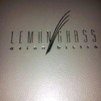 Photo taken at Lemongrass Asian Bistro by Marisa C. on 12/29/2012