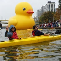 Photo taken at Kayak Pittsburgh by Turki A. on 10/19/2013