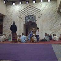 Photo taken at Masjid Al-Istiqna by Denrud F. on 12/22/2012
