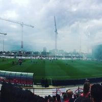 Photo taken at Bosuilstadion by Ben J. on 8/13/2017