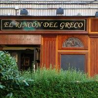 Photo taken at El Rincón del Greco by El Rincón del Greco on 10/15/2013