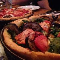 Photo taken at Uno Pizzeria & Grill - Boston by Rainy Z. on 9/22/2014