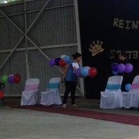 Photo taken at Gimnasio SSCB by Ramírez on 10/16/2014