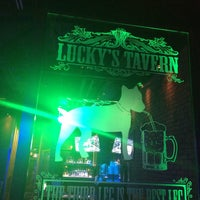 Photo taken at Lucky's Tavern - Home of the 3 Legged Dog by Elliott on 12/19/2015