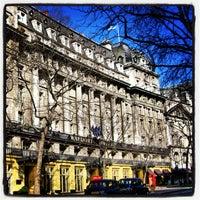 Photo taken at The Waldorf Hilton by Stefan V. on 12/21/2012