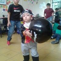 Photo taken at Instituto Pedro Justo Berrío by Maria C. on 10/31/2013
