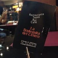 Photo taken at La Bodeguita del Centro by Cristina H. on 10/25/2013