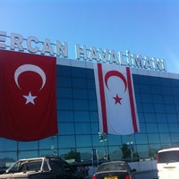 Photo taken at Ercan Airport (ECN) by Tugçe Ecem A. on 10/29/2013
