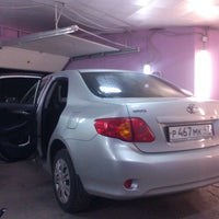 """Photo taken at Ohmywheels """"wrapping studio"""" by Серж 🇷🇺 on 3/26/2014"""