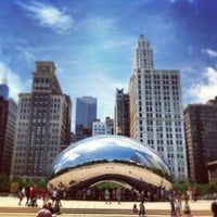 Photo taken at Cloud Gate by Anish Kapoor by dane k. on 6/27/2013