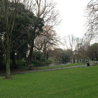 Photo taken at St Stephen's Green Playground by Inger E. on 2/21/2013