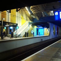 Photo taken at Station Rotterdam Blaak by Gabi H. on 12/15/2012