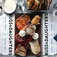 Photo taken at Russ & Daughters Café by Jen S. on 5/8/2014