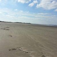 Photo taken at Enniscrone Beach by Brian H. on 3/31/2013