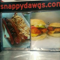 Photo taken at Snappy Dawgs Food Truck by SNAPPY D. on 5/29/2015