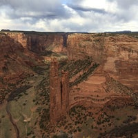 Photo taken at Canyon De Chelly National Monument by Xavier J. on 4/13/2014