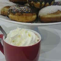 Photo taken at Fánki Donuts by Szilvia N. on 3/11/2014