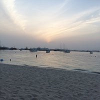 Photo taken at The Westin Dubai Mina Seyahi Beach Resort & Marina by Esra Burcu C. on 5/6/2017