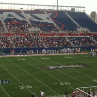 Photo taken at FAU Football Stadium by Lia L. on 9/29/2012