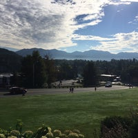 Photo taken at Crowne Plaza Resort Lake Placid-Golf Club by Todd D. on 9/10/2016