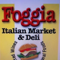 Photo taken at Foggia Italian Market by Kiera L. on 4/27/2013