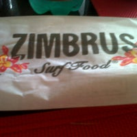 Photo taken at Zimbrus Surf Food by Carolina B. on 11/8/2012