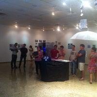 Photo taken at Galeria de Artes Franco Melchiorri by Jhenes F. on 12/12/2014