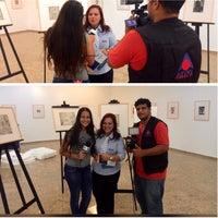 Photo taken at Galeria de Artes Franco Melchiorri by Jhenes F. on 2/27/2015
