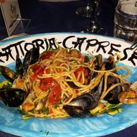 Photo taken at Trattoria Caprese by Paola G. on 7/25/2014
