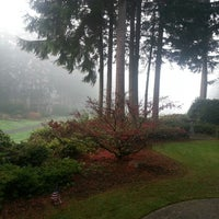 Photo taken at Canterwood Golf And Country Club by Kim L. on 11/26/2013