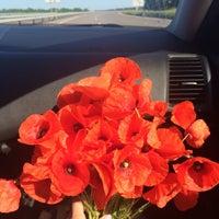 Photo taken at Трасса Одеса-Київ (М-05, Е-95) by Dayana T. on 6/6/2016
