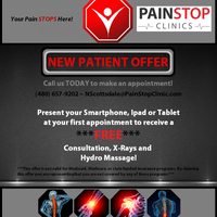Photo taken at Pain Stop North Scottsdale by Pain Stop Clinics on 10/15/2013