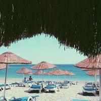 Photo taken at Bedya Beach by Cemre C. on 7/3/2013