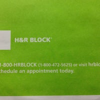 Photo taken at H&R Block by Mark A. on 4/14/2013