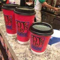 Photo taken at PJ's Coffee by Colleen on 11/14/2012