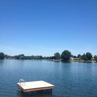 Photo taken at Tull lake by David B. on 7/13/2013