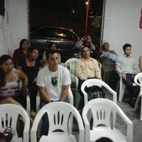 Photo taken at Igreja Pentecostal FOGO VIVO - IPFV-Parque Riachuelo II by Patty C. on 2/8/2014