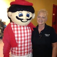 Photo taken at Pizza Inn by Lori G. on 10/17/2013