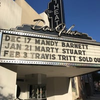 Photo taken at Don Gibson Theatre by Carl H. on 11/25/2016