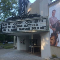 Photo taken at Don Gibson Theatre by Carl H. on 5/14/2016