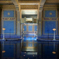 Photo taken at Hearst Castle Roman Pool by Rob G. on 5/27/2016