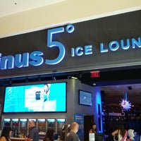 Photo taken at Minus5° Ice Lounge by Rob G. on 3/2/2013