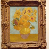 Photo taken at Sunflowers by Vincent Willem van Gogh by Rob G. on 9/21/2013