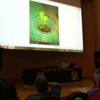 Photo taken at Auditorio Alberto Barajas by Héck Betguan O. on 10/18/2014