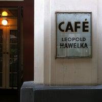Photo taken at Café Hawelka by Metin B. on 6/2/2013