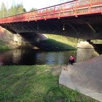 Photo taken at р. Войтоловка by Татьяна on 5/16/2014