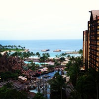 Photo taken at Aulani, A Disney Resort & Spa by Nathan K. on 4/13/2013
