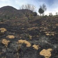 Photo taken at Volcán teuhtli by Fernanda R. on 2/15/2016
