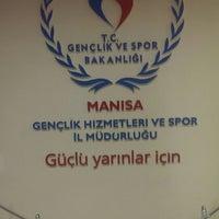 Photo taken at Gediz Spor Salonu by hasan s. on 2/17/2014